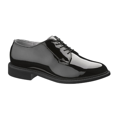 - Bates Men's High Gloss Oxford (12.5 E in Black)