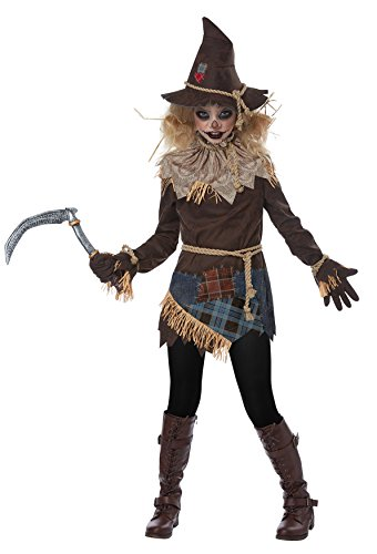 Creepy Costumes Halloween Girls (Creepy Scarecrow Child)