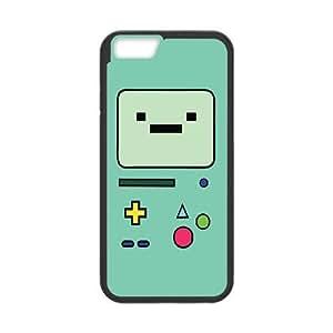 Adventure Time Beemo funda de plástico iPhone 6S 4.7 pulgadas del teléfono celular funda funda caja del teléfono celular negro cubren ALILIZHIA07704
