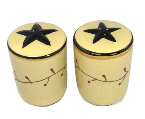 Star Vine Salt and Pepper Set -