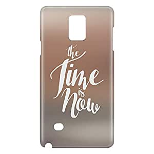 Loud Universe Galaxy Note 5 The Time is Now Print 3D Wrap Around Case - Gray/Brown
