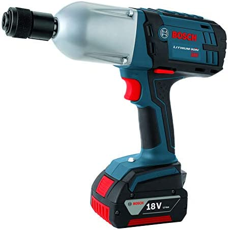 Bosch HTH182-01 18-Volt Lithium-Ion 7 16-Inch Hex High Torque Impact Wrench Kit with 2 Batteries, Charger and Case