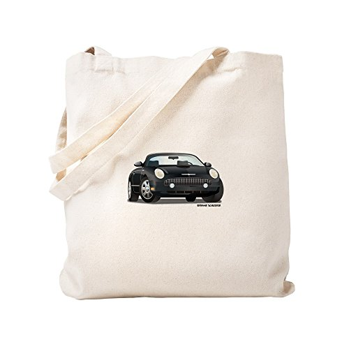 - CafePress - 2002 05 Ford Thunderbird Blk - Natural Canvas Tote Bag, Cloth Shopping Bag