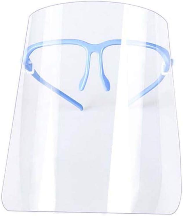 Exceart - 2 protectores de plástico para la cara completa, antivaho y protección para los ojos y la cabeza para mujeres y hombres