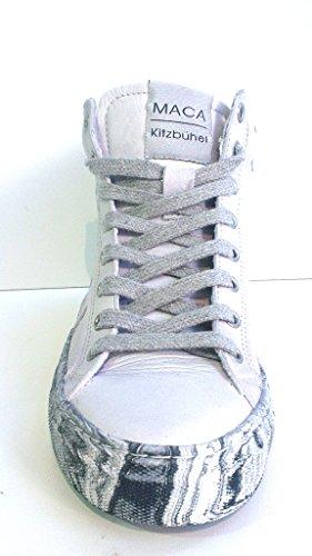 Maca Kitzbühel Schnürboot, Antikleder white-grey, herausnehmbares Fußbett für eigene lose Einlagen, 2014