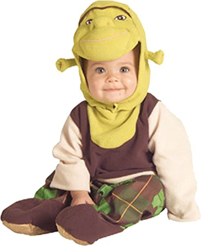 [Shrek the Third Shrek EZ on Romper] (Puss N Boots Costumes)