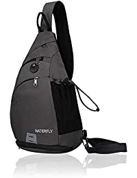 Sling Backpack Sling Bag Small Crossbody Daypack Casual Backpack Chest Bag Rucksack for Men & Women Outdoor Cycling Hiking Travel