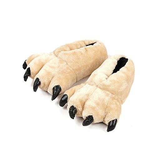 OCHENTA Zapatillas de Estar por Casa Hombre Albaricoque