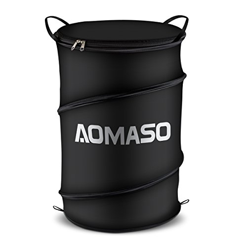 aomaso portable trash can pop up recycle container for car import it all. Black Bedroom Furniture Sets. Home Design Ideas