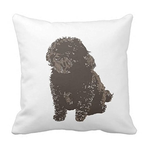 Price comparison product image Maizy The Dog 18*18 pillow Case
