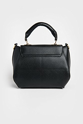 Women's Black Ardene Faux Purse Leather Flower HvwOnRq0