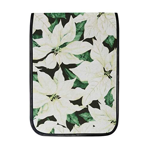 (Christmas Joy Packed Poinsettias Green Sleeve Case Compatible with iPad Pro 10.5/9.7 iPad Air/Samsung Galaxy Tab Case Sleeve Carrying Protector Bag)