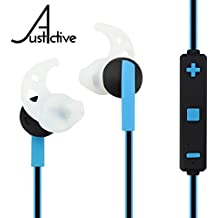 Best Bluetooth Headphones for Workout, Perfect Gift, Super Comfortable Wireless Exercise Earbuds for Sports, Gym & Running, Secure Stay in Ear Fit, MIC, Stereo, 4K Calls, Sweat Proof