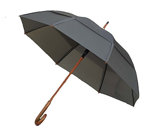 - GustBuster Classic 48-Inch Automatic Golf Umbrella (Suit Grey)