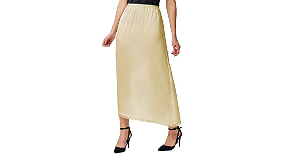 SIZES 10-22 faMouS store Ladies BLACK Waist Half Slip Underskirt 3 lengths