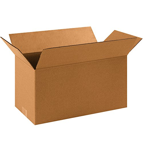 "Aviditi 1688 Single-Wall Corrugated Box, 16"" Length x 8"" Wid"