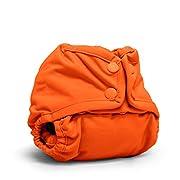 Rumparooz Newborn Cloth Diaper Cover Snap, Poppy