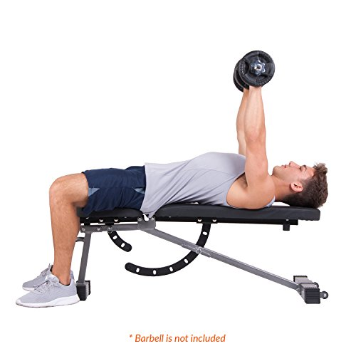Body Power Multi-Purpose Adjustable Fitness Weight Bench BUB350