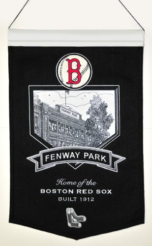 Red Sox Mlb Applique - MLB Boston Red Sox Stadium Collection Banner