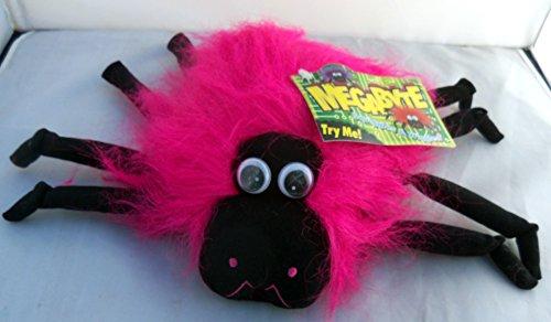 Halloween Megabyte Sound Activated Pink Spider Wiggles Plush 9