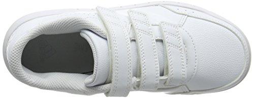 adidas Unisex Baby AltaSport Cloudfoam Gymnastikschuhe Elfenbein (Ftwwht/ftwwht/clegre Ba9513)