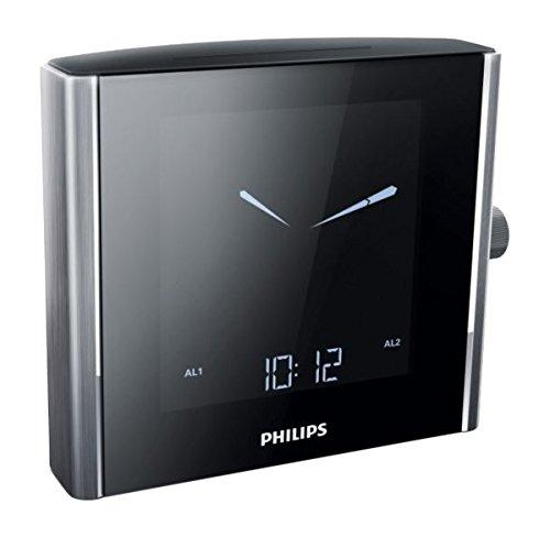 Philips AJ7000/37 - Radio (Reloj, Digital, FM, LCD, Negro, Plata, Aluminio): Amazon.es: Electrónica