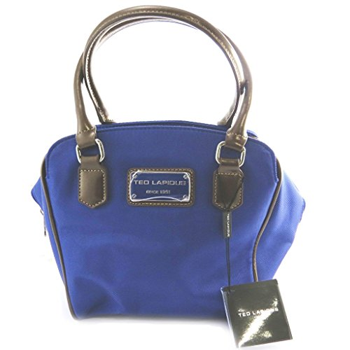 Bag french touch Ted Lapidusblu reale.
