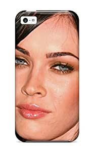 Premium Protection Megan Fox Face Close Up Case Cover For Iphone 5c- Retail Packaging