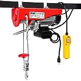 Goplus Lift Electric Hoist Garage Auto Shop Electric Wire Hoist Overhead Lift w/Remote Control (880LBS)