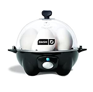 Dash Go Rapid Egg Cooker, Black