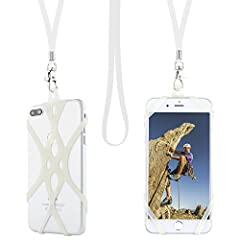 """""""THE SMARTEST WAY TO HOLD YOUR PHONE! The Universal Smartphone Lanyard is the perfect solution for anyone who wants easy access to their phone without interfering with everyday activities. Great for sports fans, concert goers, teachers, stude..."""