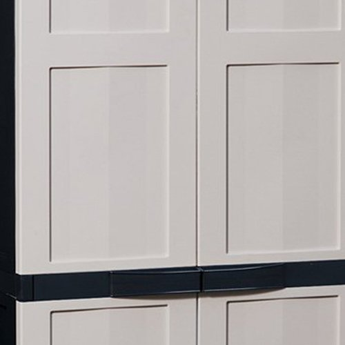Toomax Z215R150 Kunststoffschrank Eco Line S grau B/öden Art 215