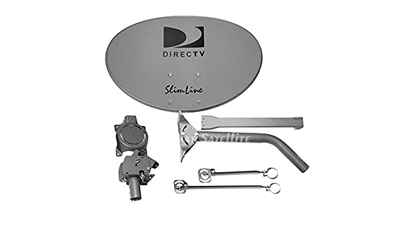 Lot of 4 DIRECT TV DIRECTV SLIMLINE KAKU SWM SATELLITE HD DISH KIT