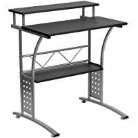 Parkside Clifton Black Computer Desk