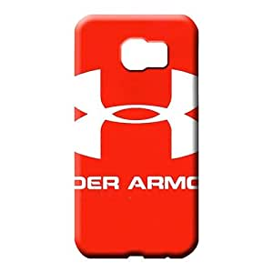 samsung galaxy s6 edge Slim PC Hot Fashion Design Cases Covers mobile phone carrying cases under armour famous top?brand logo