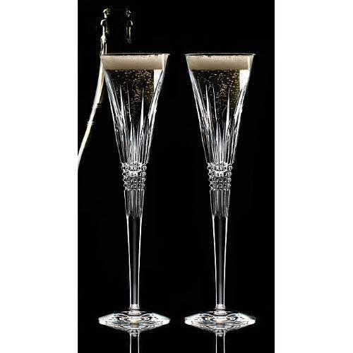 Lismore Diamond Toasting Flute Glass (Set of