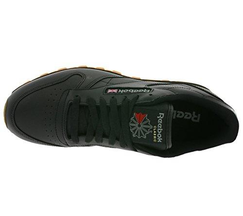 Scarpe Classic da Nero Reebok Ginnastica Leather Bambino q8EPzPO