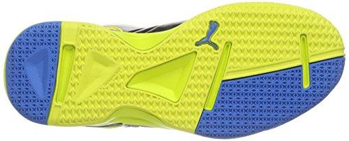 Puma evoIMPACT 3 Jr - Zapatillas deportivas para interior de material sintético Niños^Niñas Amarillo