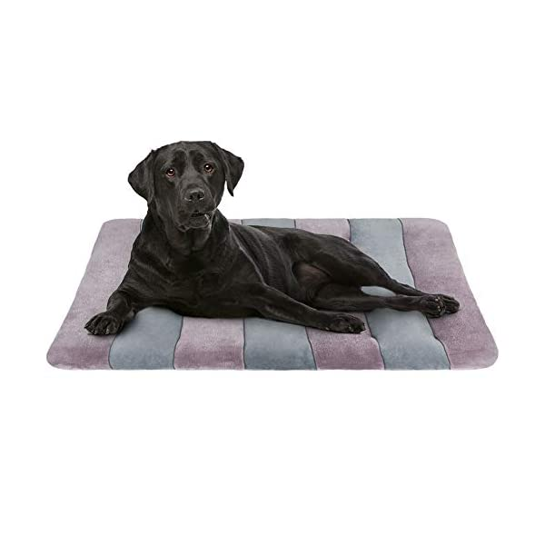 JoicyCo Large Dog Bed Crate Pad 42 in Mat 100% Washable Anti-Slip Dog Matress Kennel Pads 1