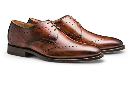 MORAL CODE The Brice: Leather Perforated Blucher (9M) ()