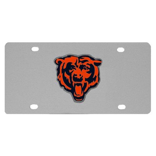 (NFL Chicago Bears Steel License Plate)