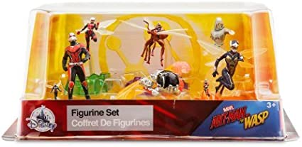 free-ship Marvel Antman and The Wasp Action Figure Set Figurine 6 Pack Ant-man