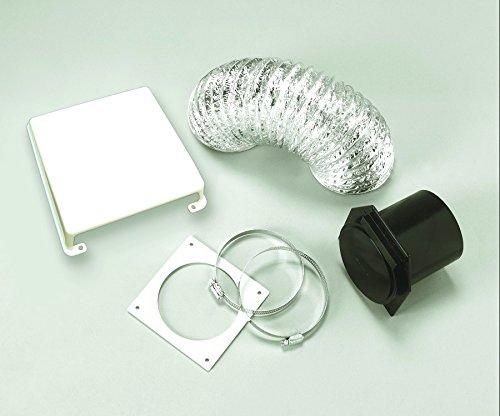 (RV Trailer Camper Appliances Deluxe Dryer Vent Kit Paintable SPLENDIDE VID403A)
