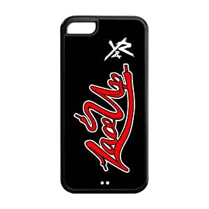 MGK Machine Gun Kelly Solid Rubber Customized Cover Case for iPhone 5c 5c-linda528
