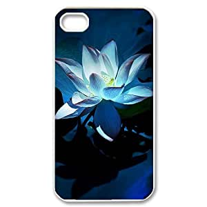 Beautiful flowers Personalized Cover Case with Hard Shell Protection for Iphone 4,4S Case lxa#876889
