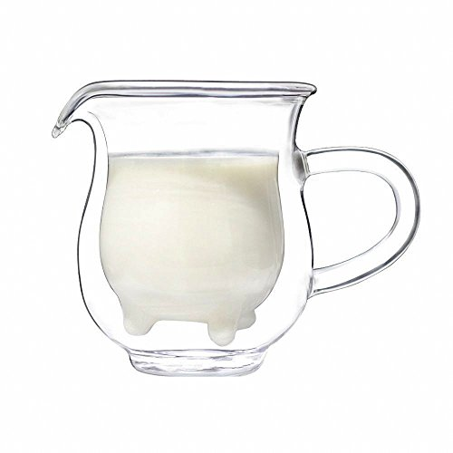 Witty Novelty Calf & Half Milk Glass - Glass Half Milk