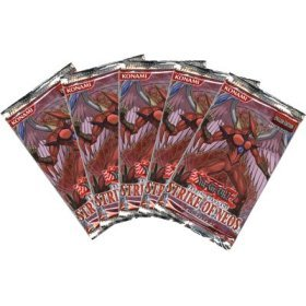 Yu-Gi-Oh Cards - Strike of Neos - Booster Packs ( 5 Pack Lot )