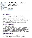 Denshine Rigid 4X175mm Sinu Mirror Compatible for