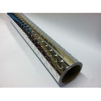 Chrominium Self-adhesive Diamond Plate Sign Vinyl 24 Inch X 10 Feet  sc 1 st  Amazon.com & Amazon.com : Chrome Diamond Plate Plastic Sheet 24\