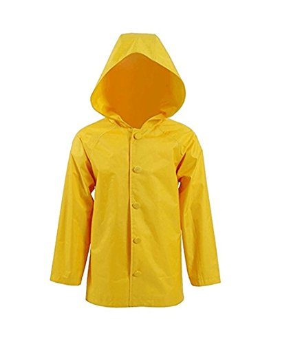 TISEA Halloween Cosplay and Daily Use Handmade Eye Catching Yellow Rain Coat (XL, (Con Air Costume)